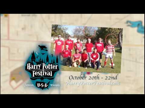 Harry Potter Festival October 20, 21 and 22 2017
