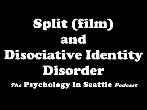 Split film and Dissociative Identity Disorder