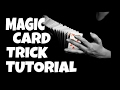 Magic card trick tutorial HD