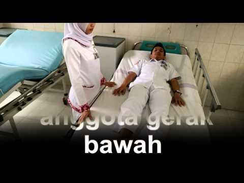 LATIHAN GERAK ROM PASIF DAN ROM AKTIF OLEH MAHASISWA PROFESI NERS UNJA TAHUN 2015 KELOMPOK IV