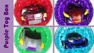그리폰 스핑크스 바벨 에반 개구리알에서 변신 터닝메카드 그리핑크스 mecard mini car auto transforming in orbeez 퍼플토이박스
