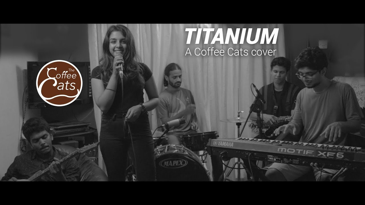 Titanium (David Guetta ft. Sia) | The Coffee Cats JAZZ-FUNK cover [LIVE]