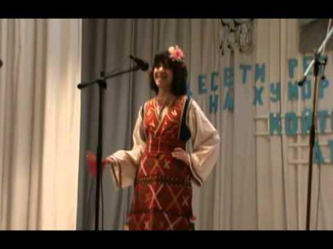 """""""Две невести тикви брали"""", изпълнява Александра Гребенарова"""