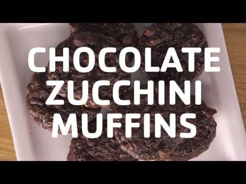 The Y Feeds Kids: Chocolate Zucchini Muffins
