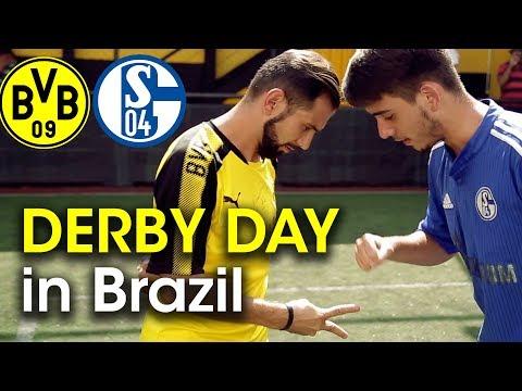 WHY Schalke Vs Dortmund Is So Big In Brazil | DERBY