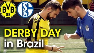 WHY Schalke vs Dortmund is so big in Brazil | DERBY