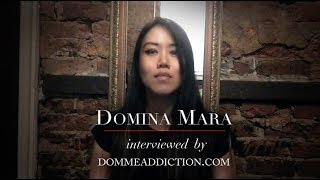 Domina Mara Interviewed by DommeAddiction.com!