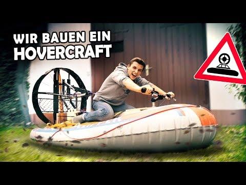 Building a HOVERCRAFT using a dinghy!   Homemade Hovercraft #1