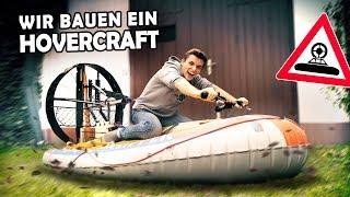 Wir bauen ein HOVERCRAFT aus unserem Schlauchboot! | DIY LUFTKISSENBOOT #1