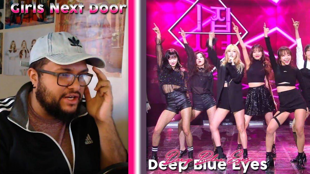 Girls Next Door(옆집소녀) - Deep Blue Eyes REACTION!!!   THAT
