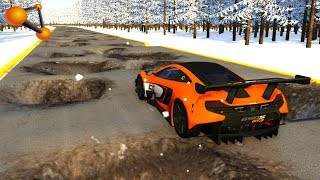 BeamNG.drive - Cars on Roads High Speed #6