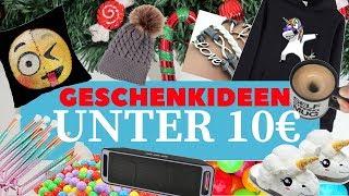 20 coole WEIHNACHTSGESCHENK IDEEN unter 10€ - FÜR MÄDCHEN & JUNGS l Kathinska