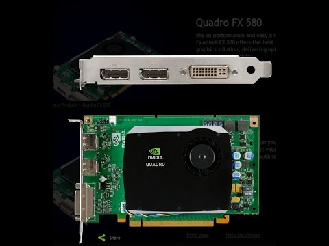 Nvidia quadro fx 580 driver