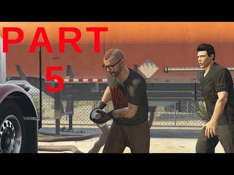 Grand Theft Auto 5 Online - Series A Funding Heist Part 5 - Steal Meth (GTA 5 Online)