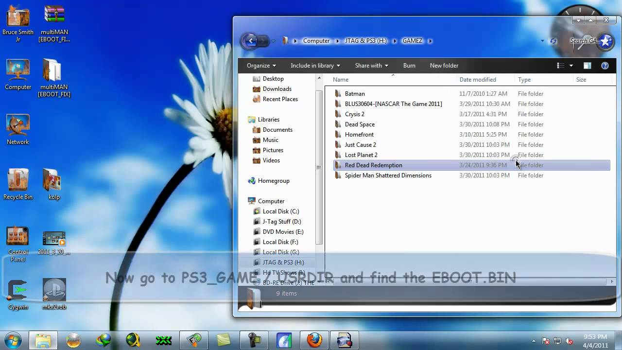 How to Fix a PS3 EBOOT BIN to work on Lower Firmware [HD]