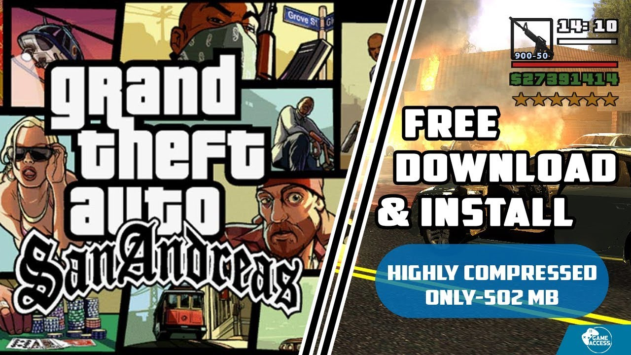 san andreas computer game download free
