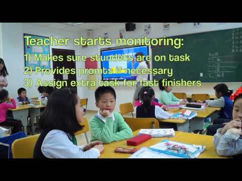 ESL - Teaching English in China: Grade 1 ( Demo lesson)
