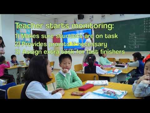 ESL - Teaching English in China: Grade 1 ( Demo lesson)