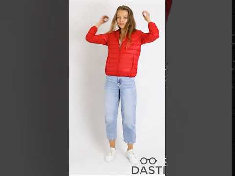 Женский пуховик DASTI Iconic Red 804DS201963342