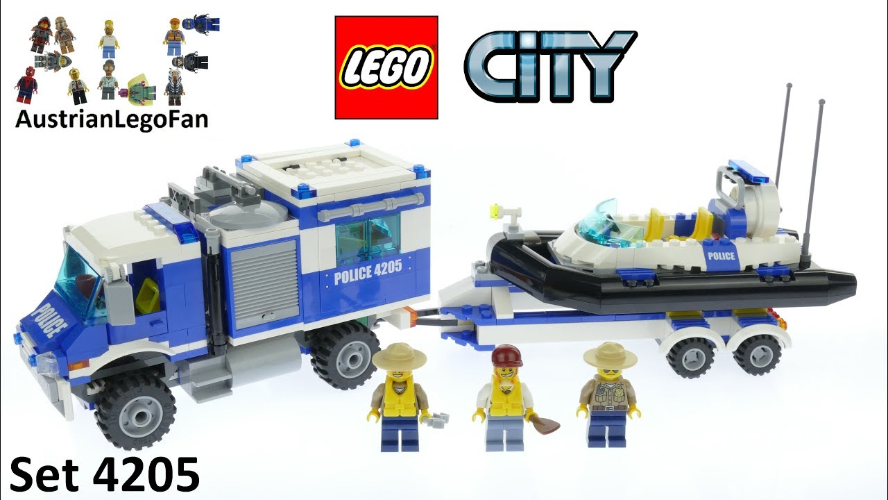 Lego City 4205 Off Road Command Center Lego Speed Build Review