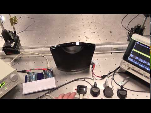 Arduino Audio VLC Analogue Prototype