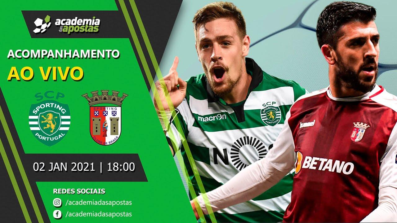 Sporting Vs Braga Liga Nos Acompanhamento Ao Vivo Youtube