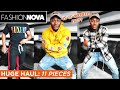 HUGE FASHION NOVA MENS CLOTHING HAUL | Try on & Quality Review