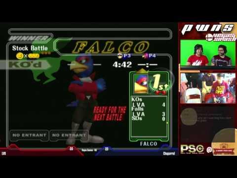 Melee - Vegas Games - LVA vs Chaparral [Part 2] @ PWNS 19