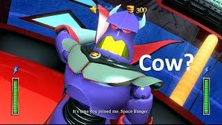 Kinect Disneyland Xbox 360:Zurg the cow?