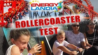 TEST EKSTREMALNYCH ROLLERCOSTERÓW - ENERGYLANDIA + Rozdanie wejściówek do parku