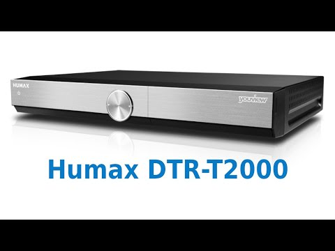 Humax DTR T2000 YouView Review