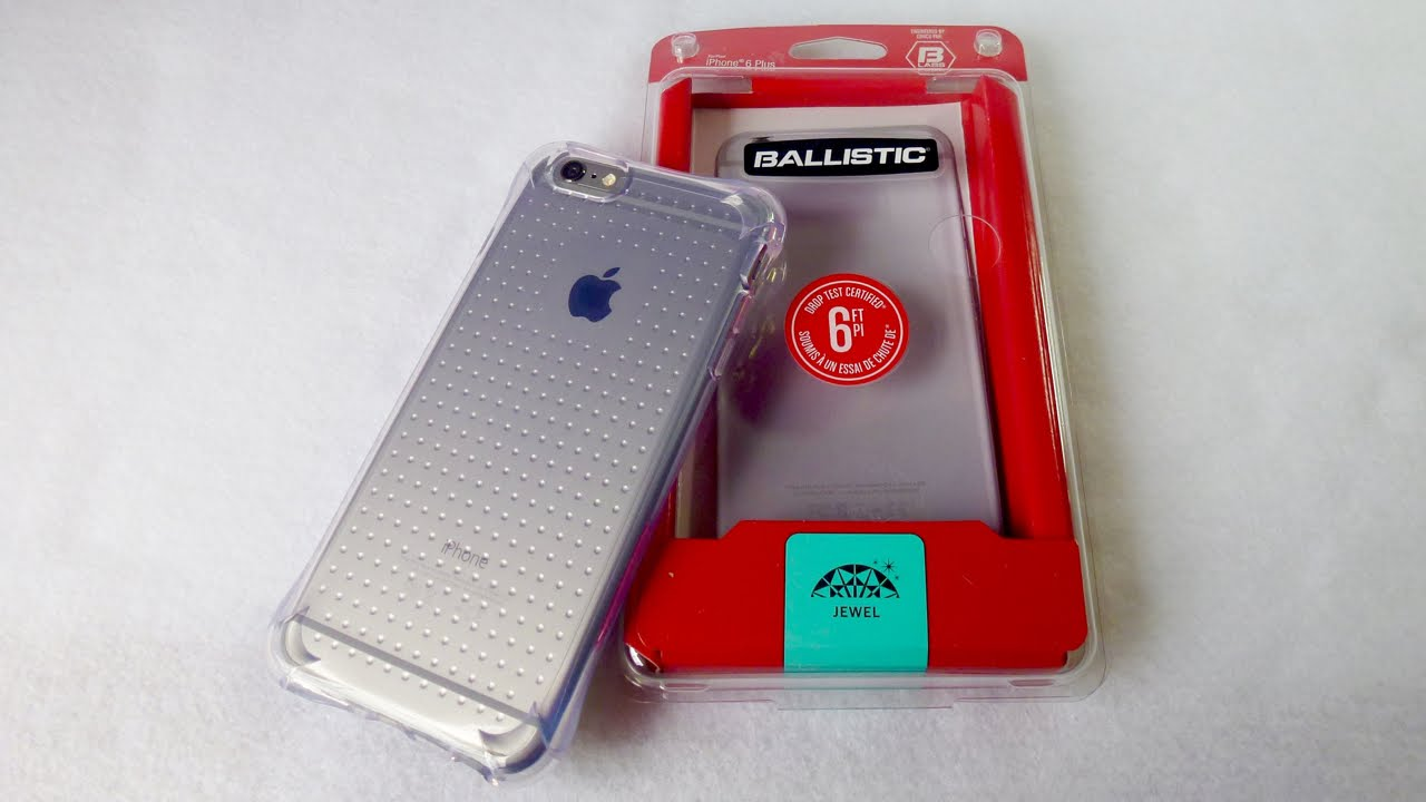 check out e939a bfffb Ballistic Jewel for iPhone 6 Plus: Pretty Protection!