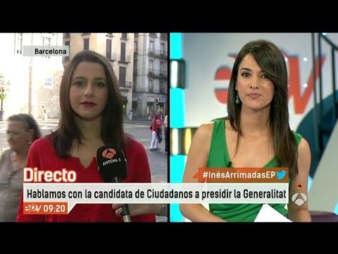 Entrevista Inés Arrimadas en Espejo Público thumbnail