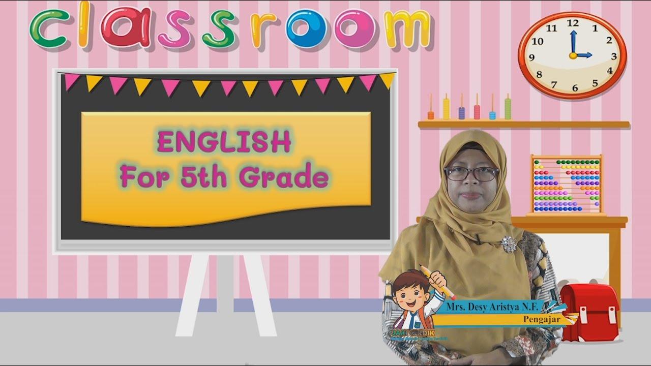 Video Pembelajaran Bahasa Inggris Kelas 5 Expressions to Tell…