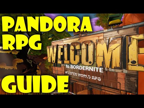 How To Complete Pandora An Open World RPG By Prudiz Fortnite Creative Guide