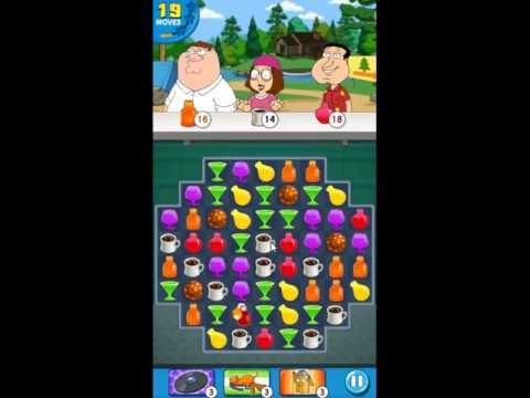Family Guy Another Freakin Mobile Game Level 41 - NO BOOSTERS