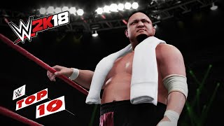 Shocking Last-Second Reversals: WWE 2K18 Top 10