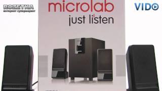 Колонки Microlab M-100(Видеообзор колонок Microlab M-100. Подробное описание, характеристики, комментарии и отзывы, наличие и цены --..., 2011-10-05T22:31:22.000Z)