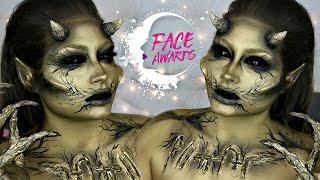 Nyx Face Awards Entry 2017 USA | Pyrimids Guardian Egyptian Creature | BeautyByJosieK