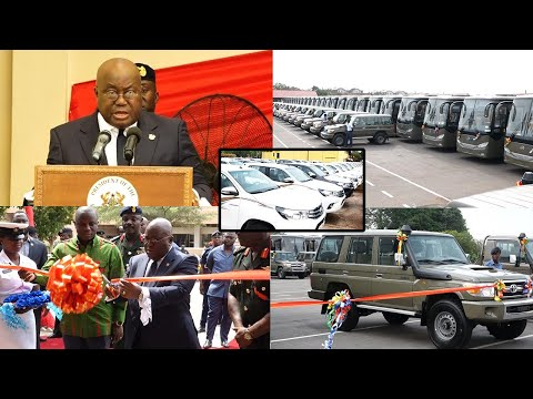 GHANA Armed Forces get 140 CARS, 48 More coming