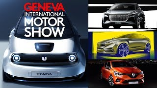 2019 Geneva Motor Show Preview – Premieres A to Z