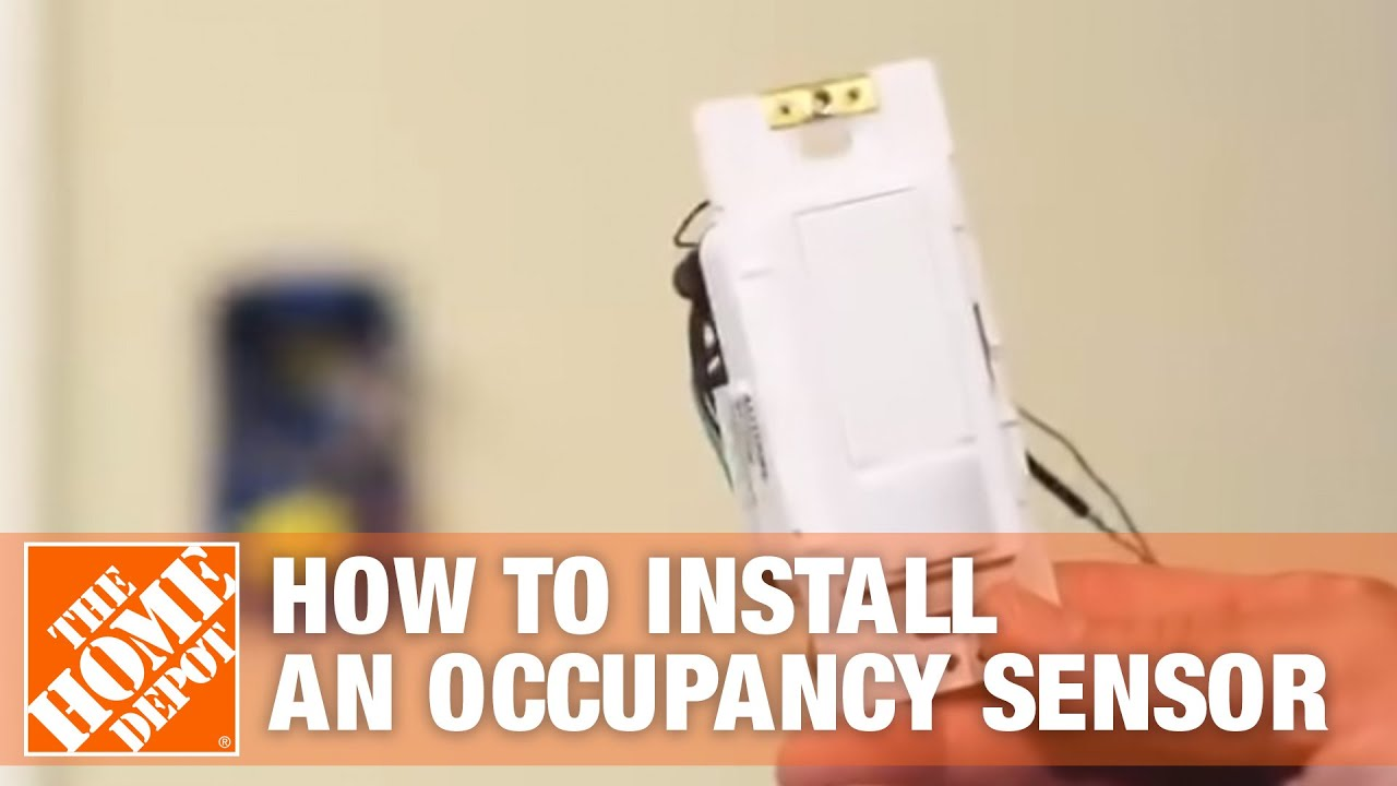 Lutron How To Install An Occupancy Sensor The Home Depot You