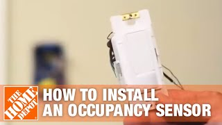 Lutron-How to Install an Occupancy Sensor | The Home Depot - YouTubeYouTube
