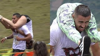 Colombias First Wife Carrying Championship 2019