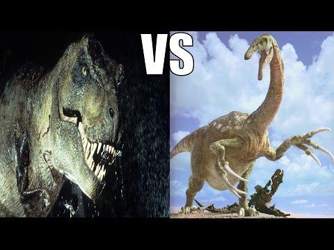 T-Rex vs Therizinosaurus: Who Would Win?