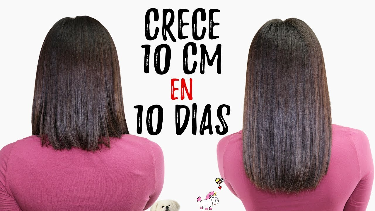 Cuanto Crece El Pelo En 3 Meses Long Hair In 10 Days With Olive Oil Does It Work Bessy Dressy