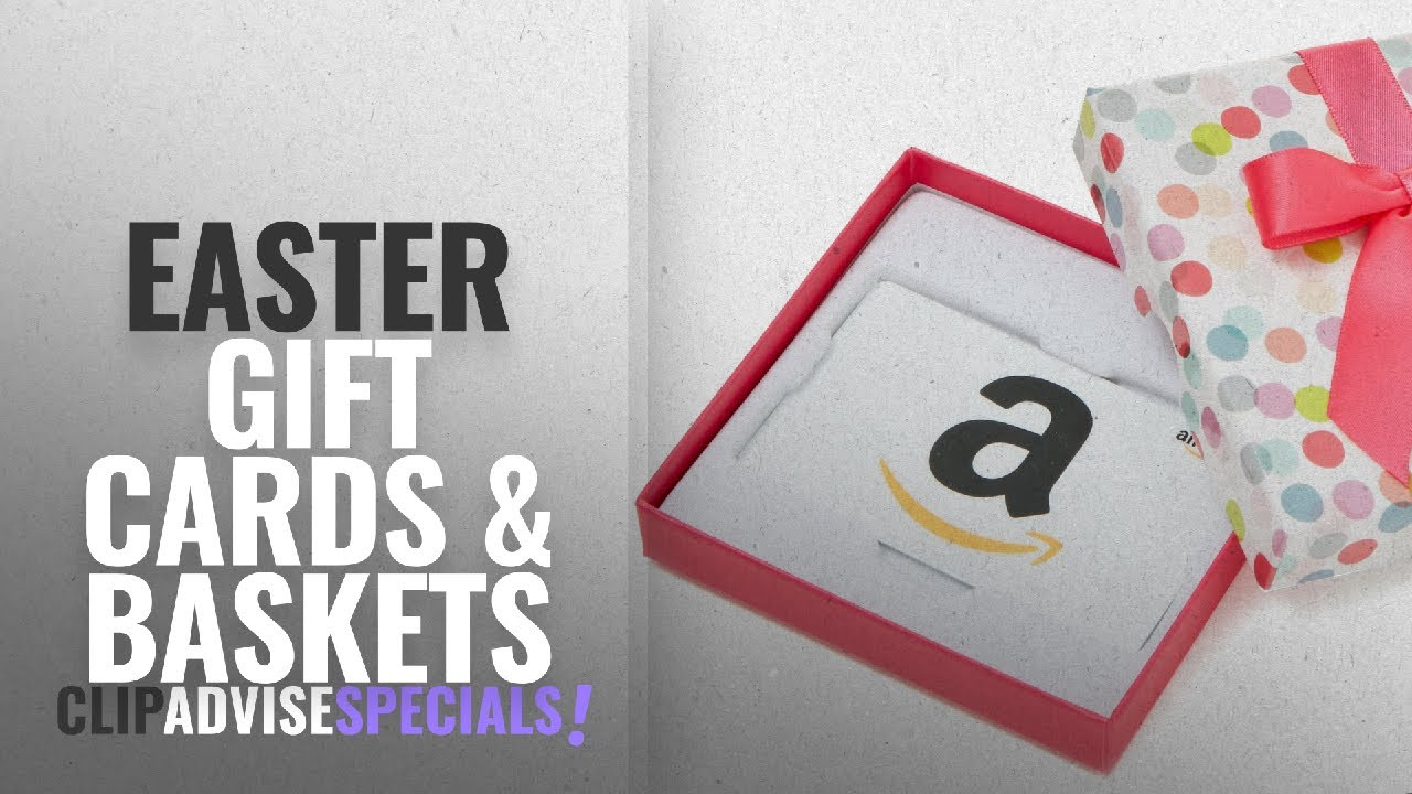 Save big on gift cards baskets for easter amazon gift card save big on gift cards baskets for easter amazon gift card in a dot box negle Gallery