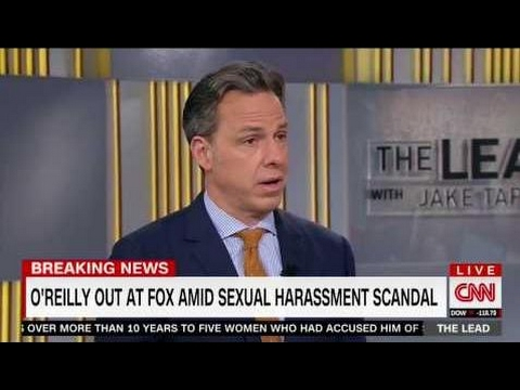Jake Tapper: 'The Biggest Show on Cable News Is Canceled ... Fox News Has Fired Bill O'Reilly'