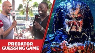 How Well Does the Cast of The Predator Know the Original Predator? - Comic Con 2018