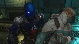 Batman Arkham Knight: Silent Knight Challenge Map
